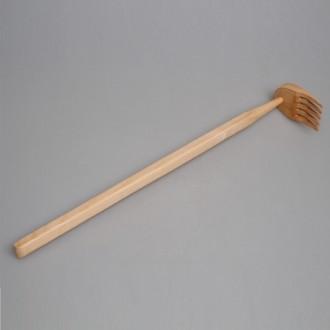 Массажер деревянный гребенчатый