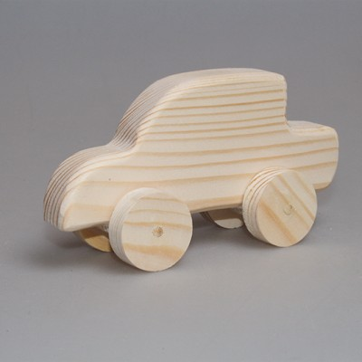 """Игрушка из дерева """"Автобиль-1"""" (на колесиках)"""