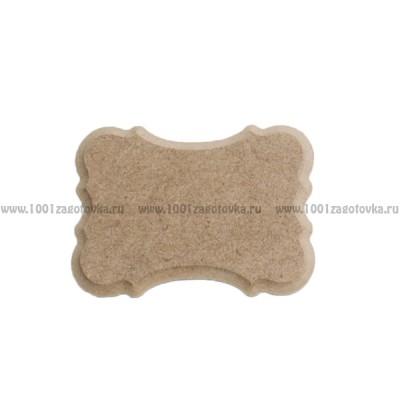 Накладка для декора фигурная мини из МДФ 900-2.19