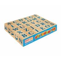 Кубики из дерева английский Алфавит, 30 шт.