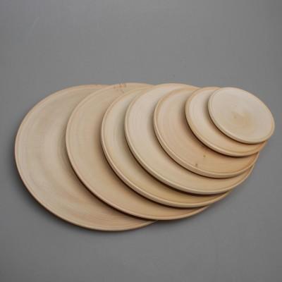 Тарелка деревянная диаметр от 5 до 23 см