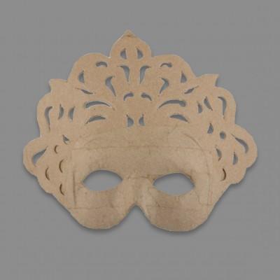 """Заготовка для декорирования из папье-маше """"маска"""", 20.5 x 20.5 см (Love2art)"""