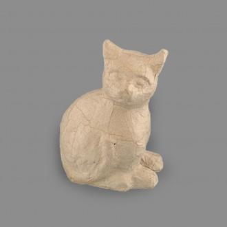 """Заготовка для декорирования из папье-маше """"кошка-2"""", 14 x 7.5 x 17.8 см."""