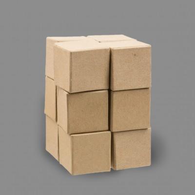 """Заготовка для декорирования из папье-маше """"кубики"""", 5 х 5 см 12 шт. (Love2art)"""