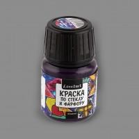 """Краска по стеклу и фарфору, """"Love2art"""", цвет фиолетовый 06, 30 мл"""