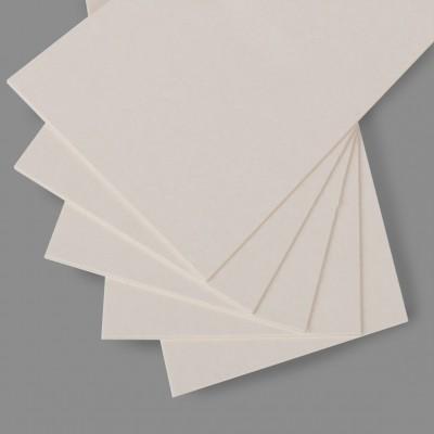 "Набор картона пивного 1.55 мм белый 630 г/м2, ""Love2art"", 30 х 30 см, 5 листов"