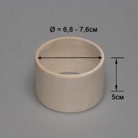 Деревянный браслет взрослый 5см (прямой)