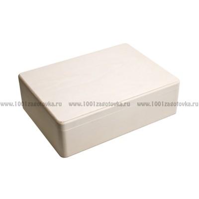 Деревянная заготовка шкатулка под документы (формат А4) 32 х 24 х 10 см