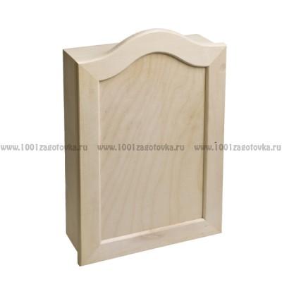 Деревянный шкафчик для ключей