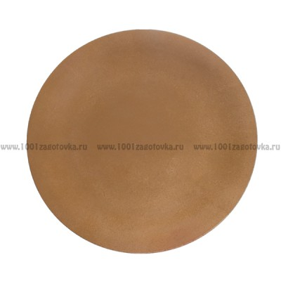 Тарелка - панно из ДВП 25 х 2 см