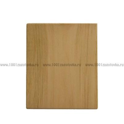 Заготовка деревянная прямоугольная из липы для резьбы по дереву 1-12.011