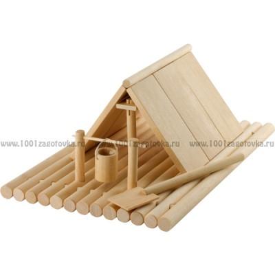 Деревянный конструктор Плот