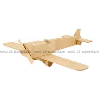 Модель для творчества из дерева Самолет моноплан