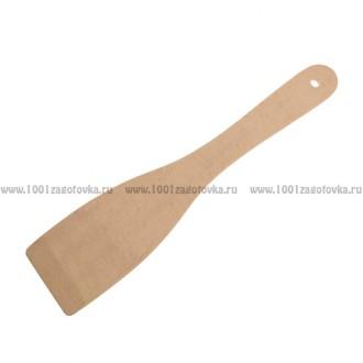 Деревянная лопатка для кухни 28 см