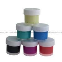 Набор красок акриловых перламутровых 6 цветов