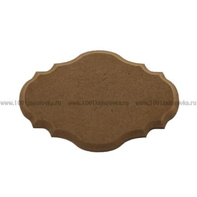 Накладка для декора фигурная из МДФ 900-1.1