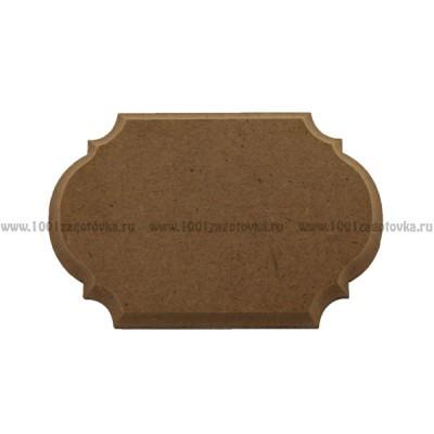Накладка для декора фигурная из МДФ 900-1.2