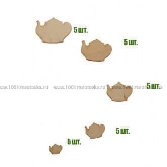 Набор для декорирования из фанеры 118.12