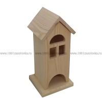 Чайный домик из дерева (со съемной крышей) 007-5