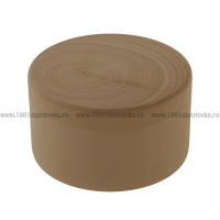 Деревянная заготовка шкатулка круглая 9 см