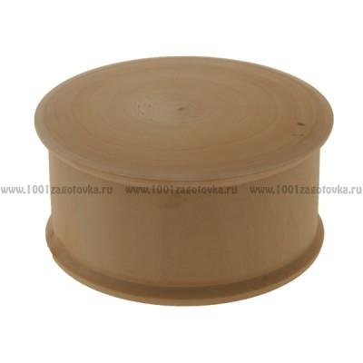 Деревянная заготовка шкатулка круглая 14 см