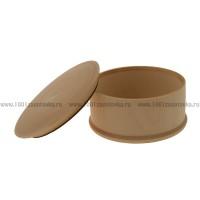 Деревянная заготовка шкатулка круглая 10 см