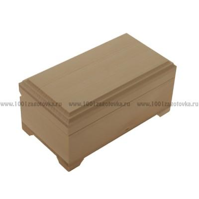 Деревянная заготовка шкатулка фреза 18 х 10 х 7,5 см