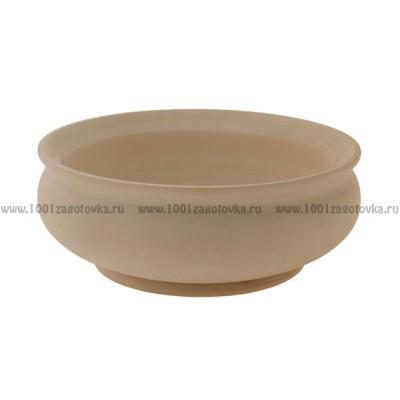 Деревянная заготовка чаши 13 х 7 см