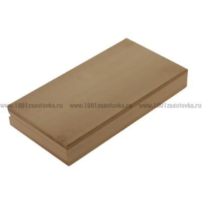Деревянная заготовка шкатулка прямоугольная (купюрница) 18 х 9 х 3 см