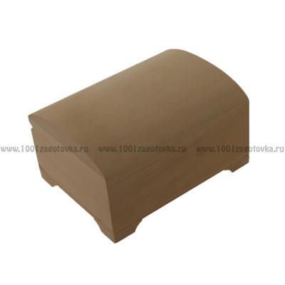 Деревянная заготовка шкатулка сундучок 16 х 12 х 9,5 см