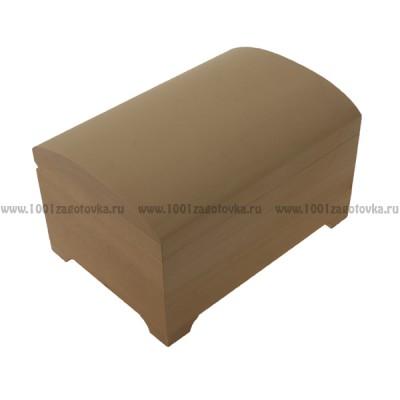 Деревянная заготовка шкатулка сундучок 22 х 15,5 х 12,5см