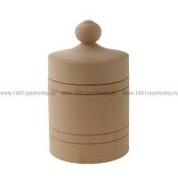 Деревянная заготовка бочонок 000-1 18 см