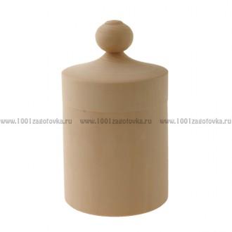 Деревянная заготовка бочонок 0001 18 см