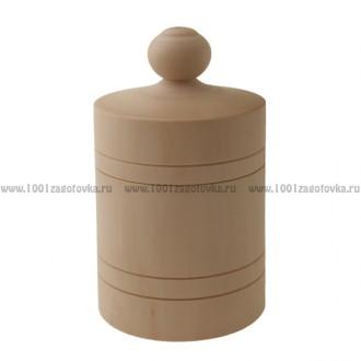 Деревянная заготовка бочонок 0002 24 см