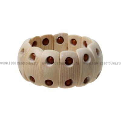 Браслет растяжной деревянный 1-47.191