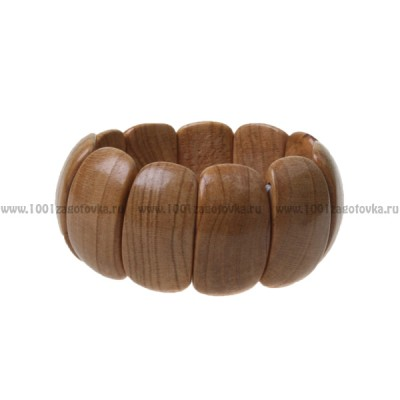Браслет растяжной деревянный