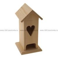 Чайный домик из дерева (со съемной крышей) 007