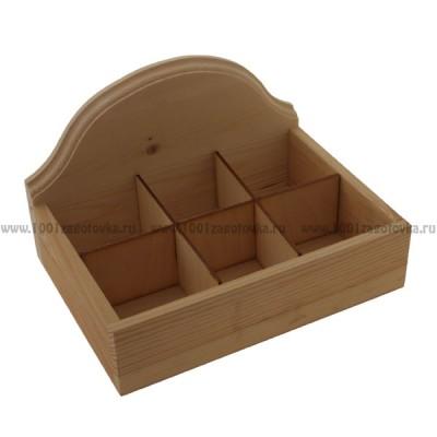 Деревянная чайная коробка 307-1