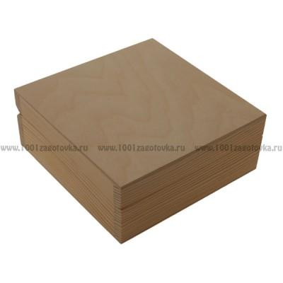 Шкатулка деревянная 037-3