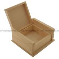 Шкатулка деревянная маленькая 131-3