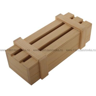 Реечный короб из дерева 035-3