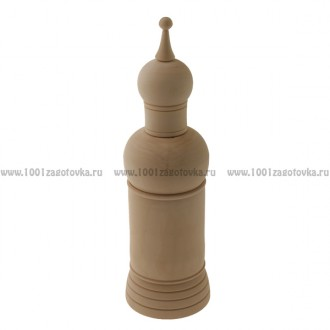 Деревянная заготовка футляра для бутылки объем 0,7 литра