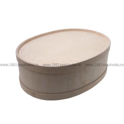 Короб фанерный овальный