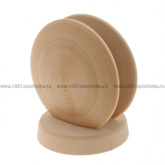 Деревянная салфетница 11 х 10 см