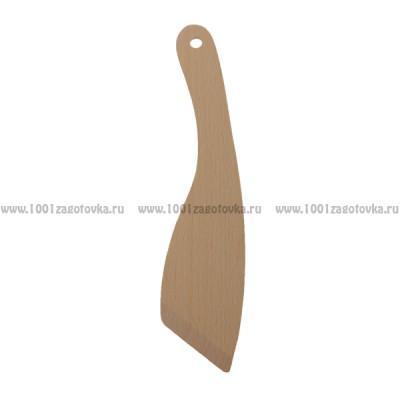 Деревянная лопатка для кухни 22 см