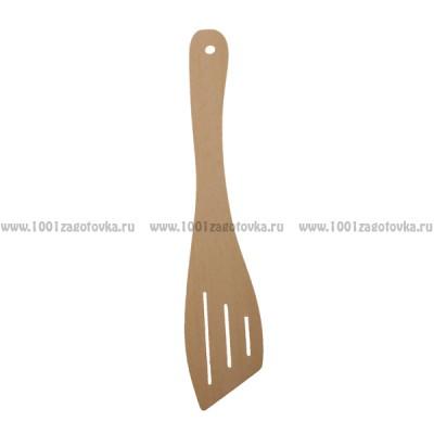 Деревянная лопатка для кухни 29 см