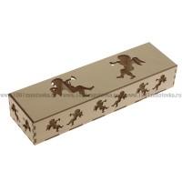 Коробка из дерева для ёлочных игрушек 1-15.1250