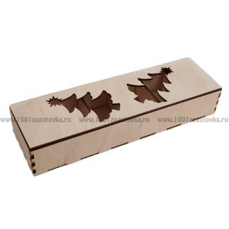 Коробка из фанеры для ёлочных игрушек 1-15.012
