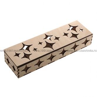 Коробка из фанеры для ёлочных игрушек 1-15.020