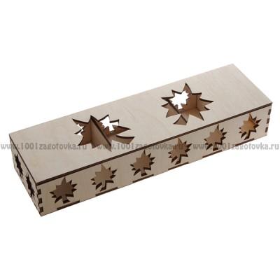 Коробка из дерева для ёлочных игрушек 1-15.019